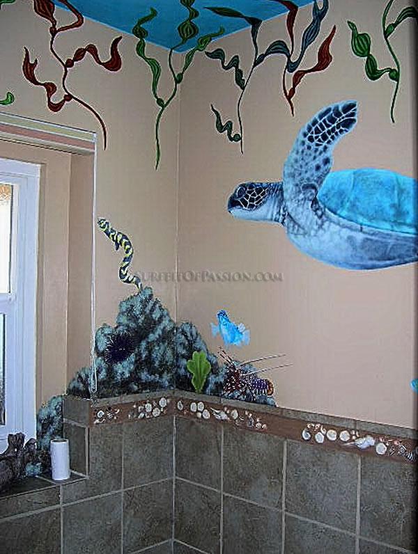 """""""Aquarium Bath"""" 2004-2005"""